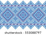 embroidered good like old... | Shutterstock .eps vector #553088797