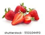 closeup shot of fresh... | Shutterstock . vector #553104493