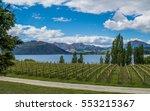 View Over Winery At Wanaka Lak...