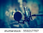 professional condenser studio... | Shutterstock . vector #553217707