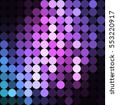 vector background from circles  ... | Shutterstock .eps vector #553220917