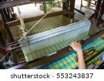 Meticulous Silk Weaving At...