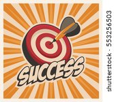 success poster motivation in... | Shutterstock .eps vector #553256503