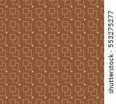seamless pattern of repeating... | Shutterstock .eps vector #553275277