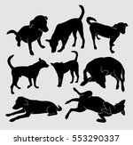 Dog Pet Animal Silhouette. Goo...