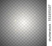 neon white glittering snow dust ... | Shutterstock . vector #553355107
