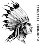 indian head | Shutterstock . vector #553370683