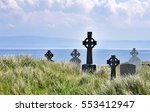 Celtic Crosses Standing In A...