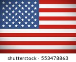 flag of the united states of... | Shutterstock . vector #553478863