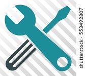 tools vector pictograph.... | Shutterstock .eps vector #553492807