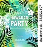 "vector illustration ""hawaiian... 