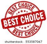 best choice. stamp. red round... | Shutterstock .eps vector #553587067