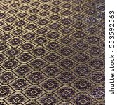 thai silk pattern | Shutterstock . vector #553592563
