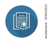 security certificates icon....