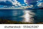 fishermen village crimean... | Shutterstock . vector #553625287