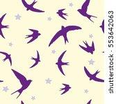 Swallow Bird Vector Illustration