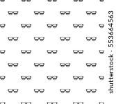 sunglasses pattern. simple... | Shutterstock .eps vector #553664563