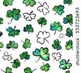 a seamless background pattern... | Shutterstock .eps vector #553723693