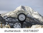 Frisco Town Clock In Colordo