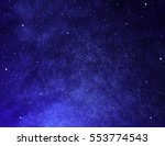 Stars And Night Sky As...