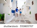 family vacation in europe.... | Shutterstock . vector #553805707
