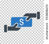 payment icon. vector pictogram... | Shutterstock .eps vector #553808653