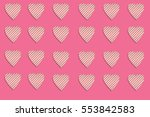 photo of seamless pattern  many ... | Shutterstock . vector #553842583