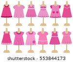 Children's Dresses In Flat...