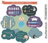 child development infographics. ... | Shutterstock .eps vector #553880893