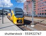Dutch Intercity Train Leaving...
