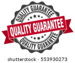 quality guarantee. stamp.... | Shutterstock .eps vector #553930273