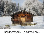 Winter Landscape With An Old...