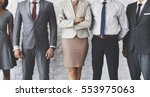 business team office worker... | Shutterstock . vector #553975063