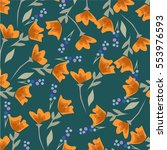 flower pattern | Shutterstock .eps vector #553976593