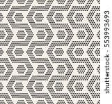 vector seamless pattern. modern ... | Shutterstock .eps vector #553993693