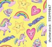 pattern seamless texture vector ... | Shutterstock .eps vector #553999867