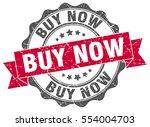 buy now. stamp. sticker. seal.... | Shutterstock .eps vector #554004703