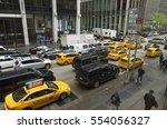 new york   may 3  2016 ... | Shutterstock . vector #554056327