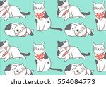 vector illustration design... | Shutterstock .eps vector #554084773