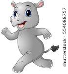 vector illustration of cartoon... | Shutterstock .eps vector #554088757