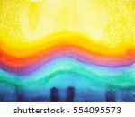 abstract watercolor painting... | Shutterstock . vector #554095573