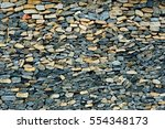 Stacked Stone Wall Background...