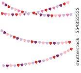 vector illustration.valentine's ...   Shutterstock .eps vector #554352523