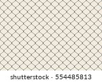 Metallic Wired Fence Seamless...