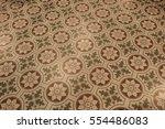 Tile Floor Flower Design...