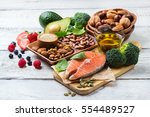 selection of healthy food for...   Shutterstock . vector #554489527