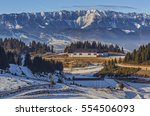 panoramic view over the... | Shutterstock . vector #554506093