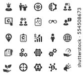 business ultimate icons   gray... | Shutterstock .eps vector #554508673