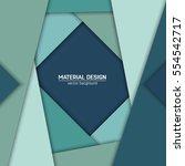 vector material design... | Shutterstock .eps vector #554542717