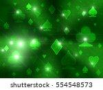 Playing Cards Shining Symbols....
